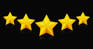 bigstock-Five-stars-on-black-13934966