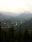 View From The Gondola - Banff